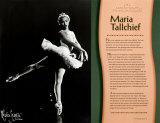 Contemporary Native Americans - Maria Tallchief Wall Poster